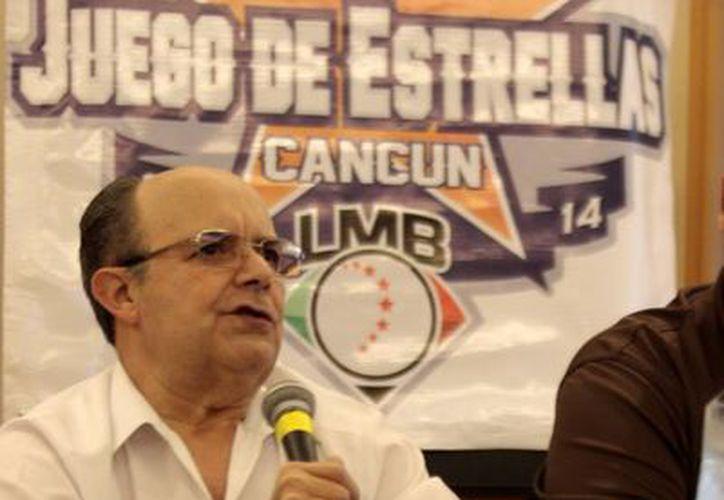 Plinio Escalante, presidente de la Liga Mexicana de Beisbol.