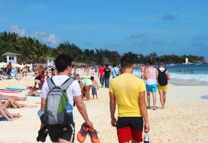 Pronostican día caluroso en Playa del Carmen. (Daniel Pacheco/SIPSE)
