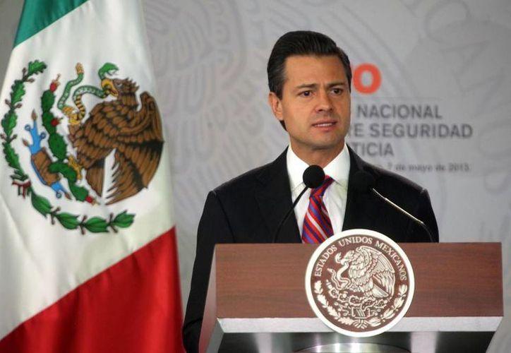 Peña Nieto en V Foro sobre Seguridad y Justicia por una Adecuada Implementación de la Reforma Penal. (presidencia.gob.mx)