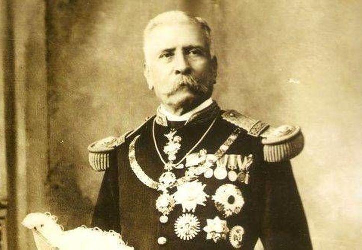 El expresidente mexicano Porfirio Díaz cumple 100 años de muerto. Aún se discute si traer o no sus restos desde Francia.  (Foto tomada de ansalatina.com)