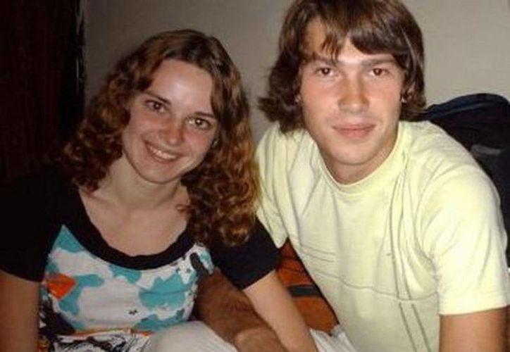 Maryna y Oleksandr contrajeron matrimonio en 2008. (SIPSE)