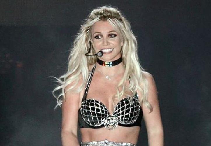 Britney Spears dio un concierto en el marco del Brighton Pride, en Reino Unido. (Instagram/britneyspears)