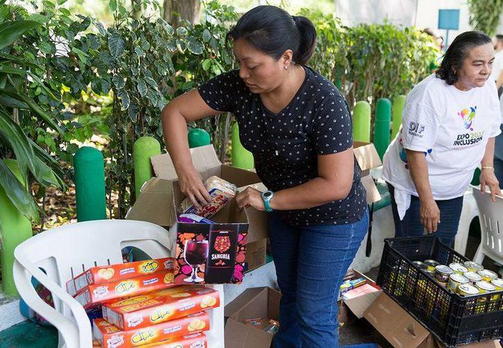 La solidaridad de los yucatecos se hace presente una vez más. (Facebook/Gobierno del Estado)