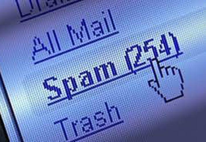 La empresa Kaspersky informó que los correos 'spam' se redujeron un 5.8 por ciento con respecto al trimestre anterior. (Imagen de contexto/ Internet)