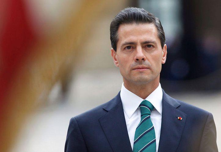 El presidente Enrique Peña Nieto se pronunció por una solución pacífica en el conflicto de Cataluña. (Contexto/Internet).