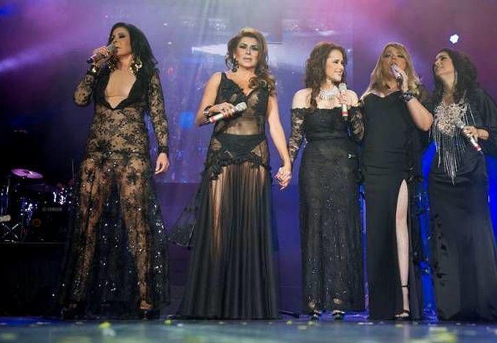 Las cantantes que se presentarán en Cancún en el mes de octubre. (Foto de Contexto/Internet)