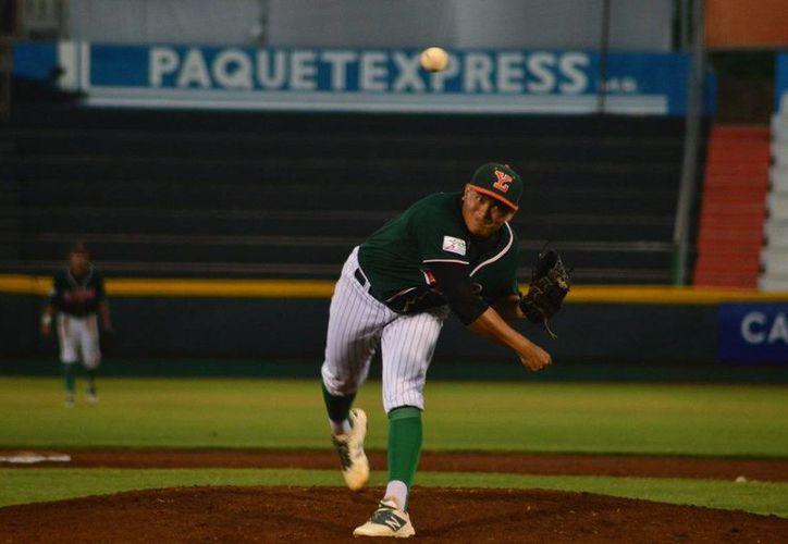 Leones de Yucatán cayó ante Piratas de Escárcega con pizzarra de 7x4, en partido de la Liga Peninsular de Beisbol. (Twitter: @LeonesOficial)