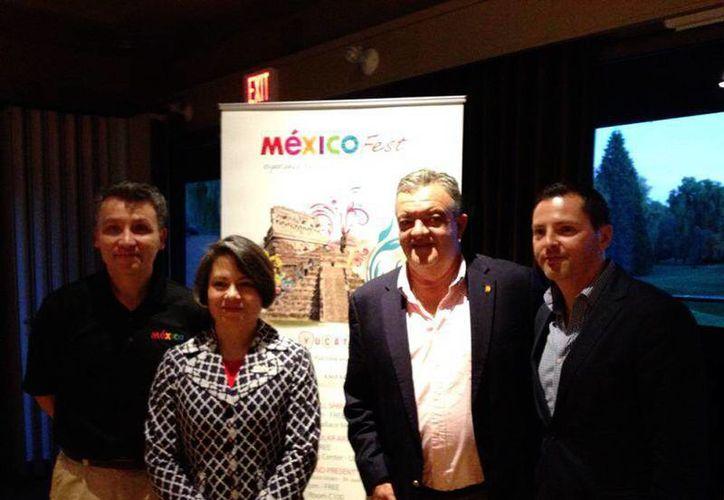 La delegación yucateca invitó a participantes en el Mexico Fest a conocer la entidad y aprovechar las oportunidades de inversión. (SIPSE)