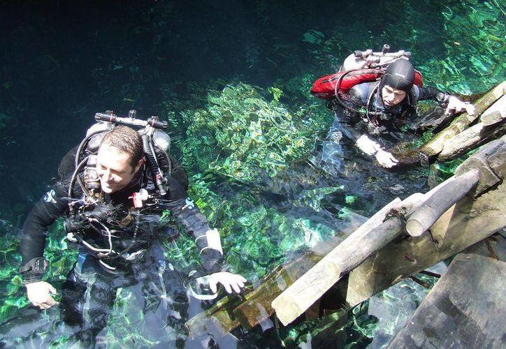 Durante las vacaciones de Semana Santa se superó la expectativa sobre la cantidad de visitantes a cenotes.  (Rossy López/SIPSE)