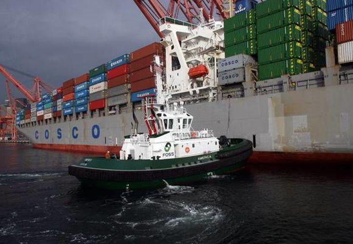 Los contenedores de carga en Los Angeles y Long Beach han sido inusualmente lentos en los muelles desde el tercer trimestre del año.(gcaptain.com)