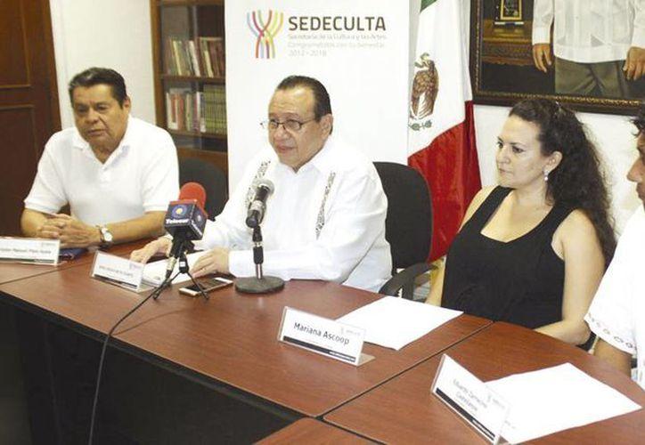 Autoridades de Cultura dieron detalles del festival musical 'Pepe Domínguez por siempre'. (Milenio Novedades)