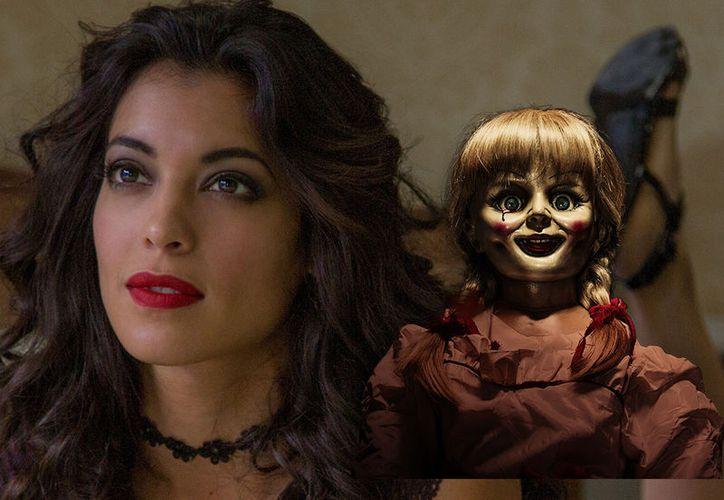 La mexicana aseguró que hasta le daba miedo en ocasiones grabar sus escenas. (Foto: Cine PREMIERE).