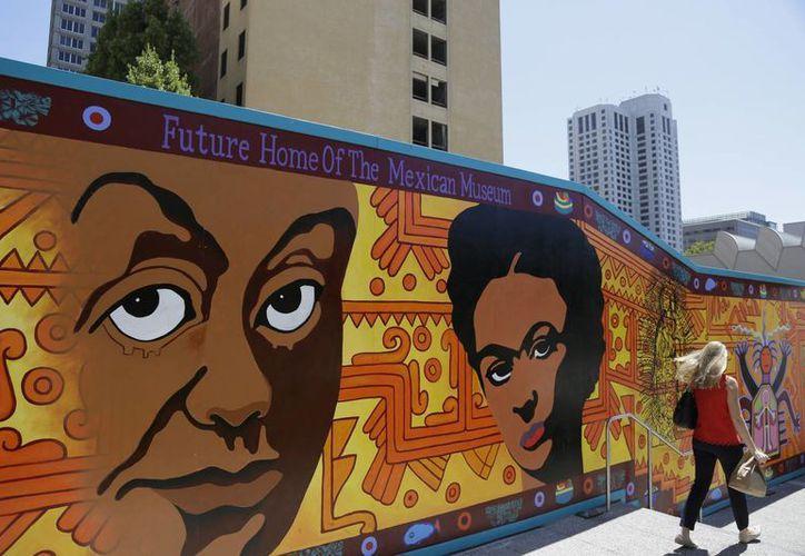 Una de las primeras exposiciones del nuevo Museo Mexicano de San Francisco será sobre Frida Kahlo. (AP)