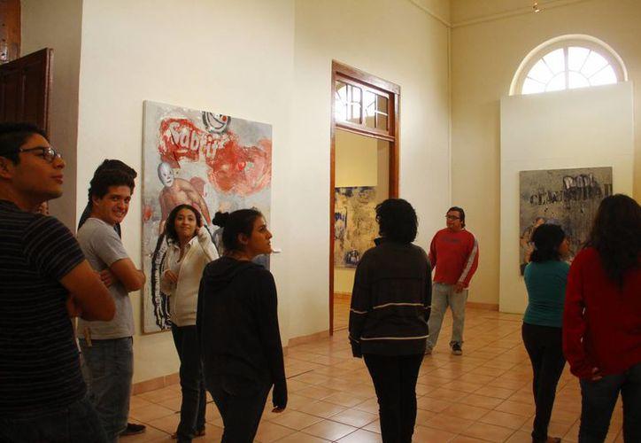 Poca gente visita las galerías de los museos en Yucatán. (Juan Albornoz/SIPSE)