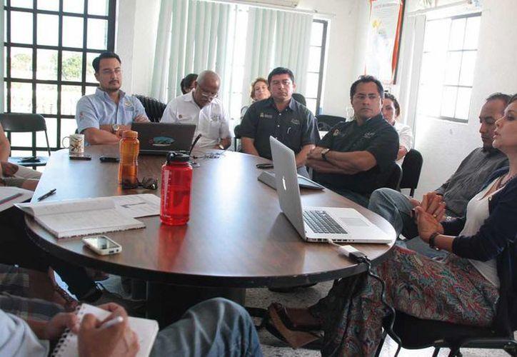 Se reunieron autoridades y personal de CAPA para la presentación de ECA. (Julián Miranda/SIPSE)