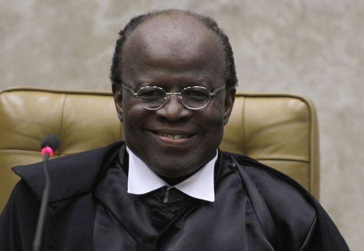 La carrera en el poder judicial de Joaquim Barbosa comenzó en 1984 en el Ministerio Público Federal. (Agencias)