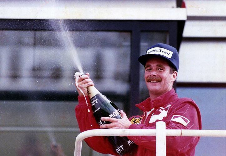 La curva 17 del Autódromo Hermanos Rodríguez llevará el nombre del expiloto de Fórmula Uno, Nigel Mansell, último ganador del Gran Premio de F1 realizado en México en 1992. (mirror.co.uk)