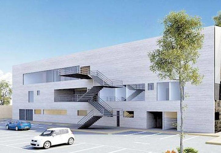 El edificio del hospital será de tres niveles con una imagen fresca que haga más llevadero el proceso de tratamiento contra SIDA de los afectados. (Milenio)