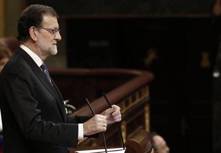 Este miércoles, Rajoy subrayó lo que considera el mayor desafío que España tiene es el movimiento secesionista impulsado por nacionalistas catalanes. (Notimex)