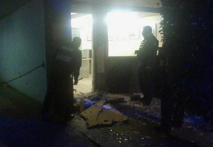 La explosión en la colonia Nápoles se registró esta madrugada. (publimetro.com.mx)