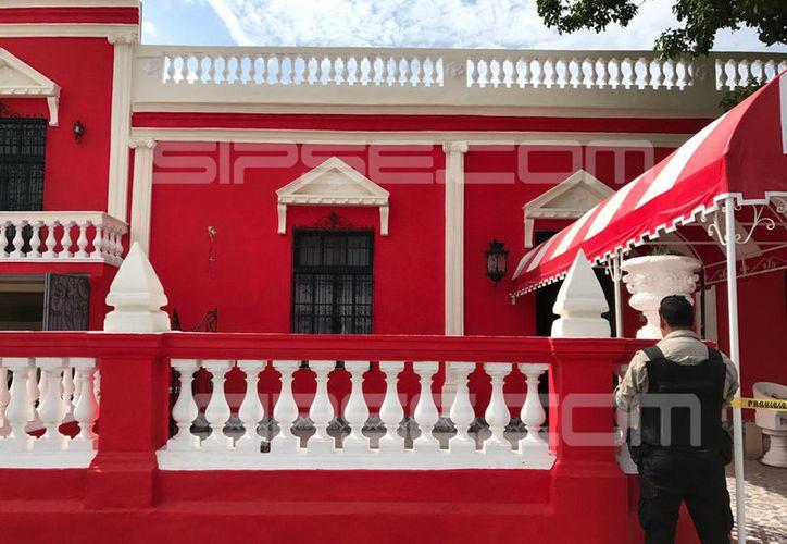 Ladrones sustrajeron varias piezas de esta galería de arte, ubicada en la colonia Chuminópolis. (SIPSE)