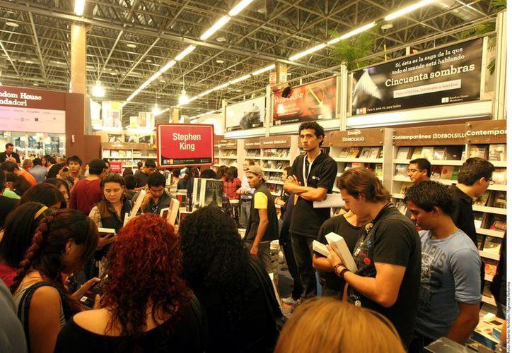 Las visitas superaron con creces la asistencia al evento. (Agencia Reforma)