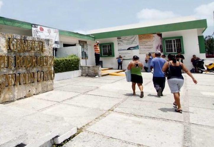 """Se realizan acciones de promoción y cuidado de la salud en el hospital General de Cancún """"Jesús Kumate Rodríguez"""". (Redacción/SIPSE)"""