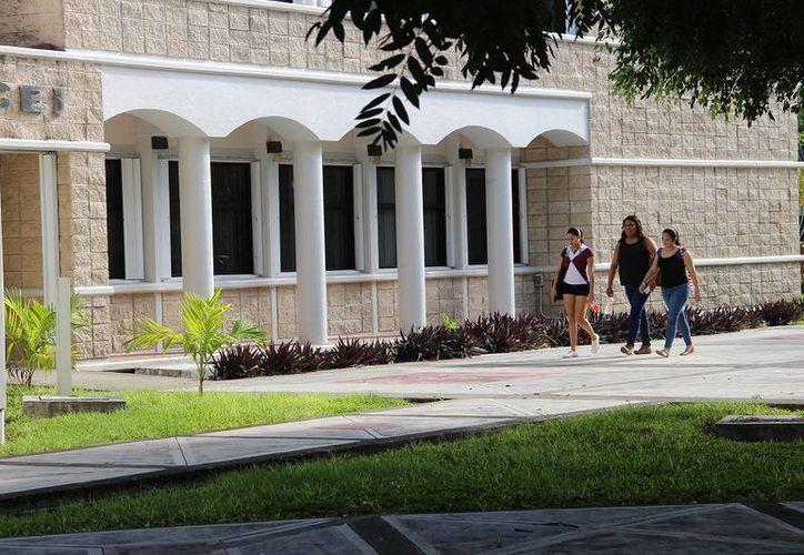 Mil estudiantes de la Uqroo recibirán becas para manutención durante este ciclo escolar. (Eddy Bonilla/SIPSE)