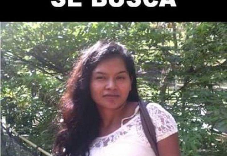 Familiares de Rebeca están difundiendo su foto con la esperanza de encontrarla. (Edgardo Rodríguez/SIPSE)