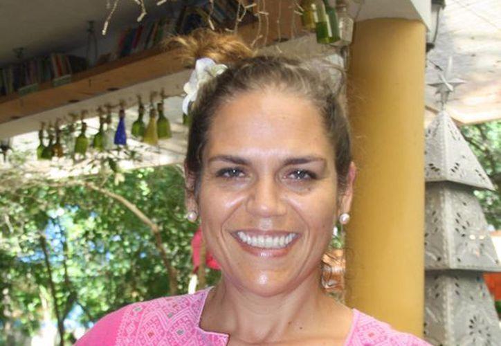 Lei de Landero Quintana, directora del parque La Ceiba. (Octavio Martínez/SIPSE)