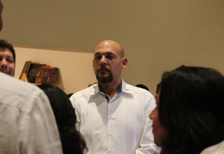 El funcionario defendió al gobierno actual al que se le ha tachado de no ejercer acciones contundentes. (Adrián Barreto/ SIPSE)