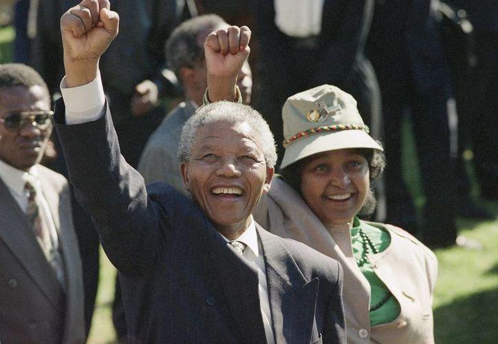 El exmandatario sudafricano, Nelson Mandela, murió hoy a los 95 años en su casa de Johannesburgo. (Agencias)