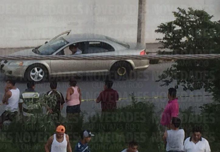 La persona fue ejecutada cuando conducía un vehículo. (Eric Galindo)