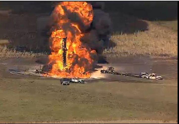 El alcance del fuego ha podido limitarse a un campo del cultivo. (actualidad.rt.com)