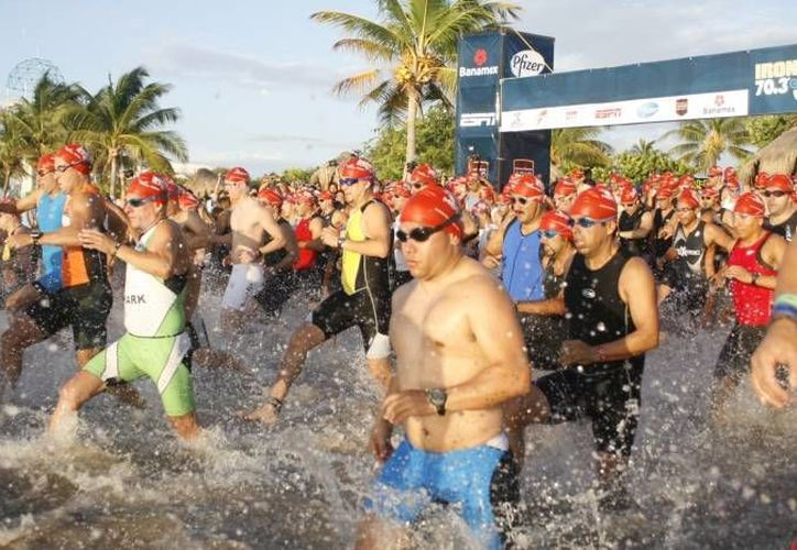 Cozumel será la sede del mundial de Triatlón, categoría Sprint y Olímpico. (Archivo/SIPSE)