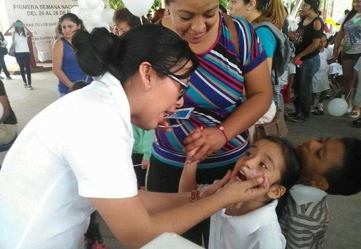 Planean aplicar más de 120 mil vacunas en la Primera Semana Binacional de Salud 2016 de Quintana Roo. (Tomás Álvarez/SIPSE)