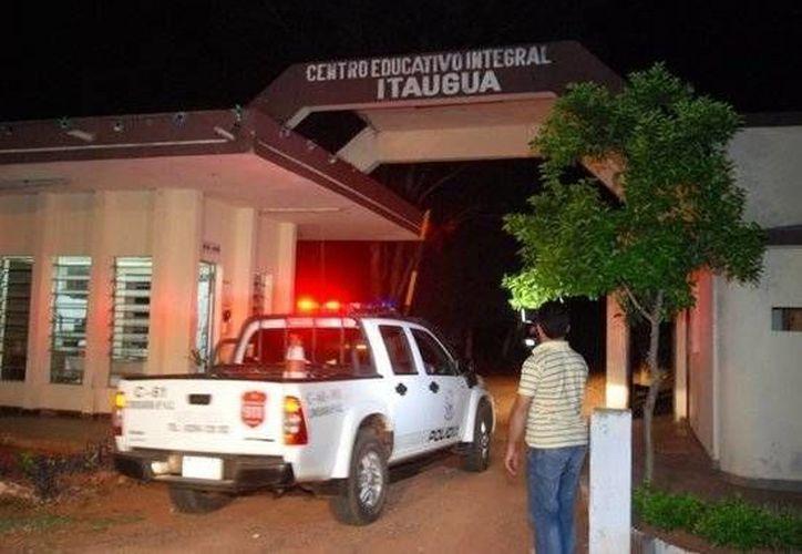 Imagen del Centro Educativo Itauguá de donde se dieron a la fuga 22 menores. (paraguay.com)