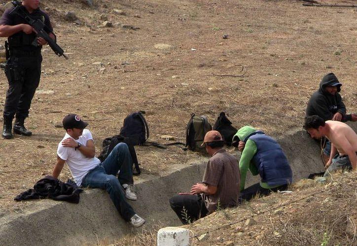 Los migrantes que pasan por el país eran asaltados por la banda en los estados de Veracruz, Chiapas y Oaxaca. (Notimex)