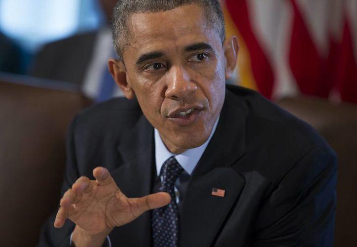 Los recursos de la partida solicitada por el presidente Obama será adicionales a los autorizados por el Departamento de Defensa de EU para combatir al Estado Islámico. (AP)