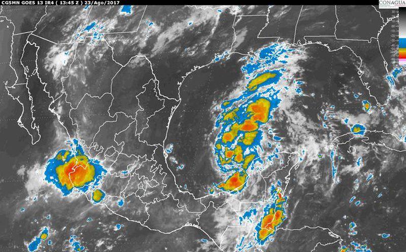 Prevén tormentas en Chihuahua; 20% de probabilidad en la capital