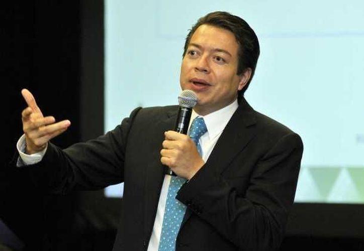 Mario Delgado: las reformas a los artículos 3 y 73 constitucionales avanzan en el objetivo de contar con una educación de calidad. (Notimex/Foto de archivo)
