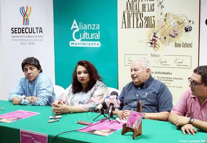La cantante yucateca Conchita de Antuñano, quien se presentará este miércoles en el 'Peón Contreras', es reconocida sobre todo como intérprete de obras de Verdi. (Milenio Novedades)