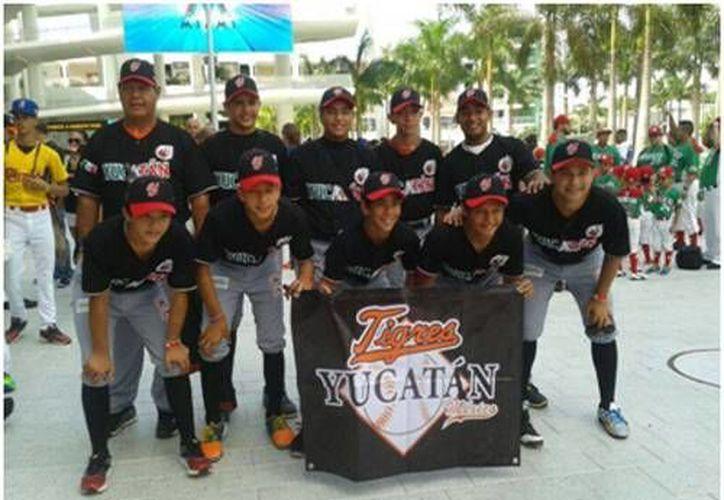 Tigres de Yucatán representó dignamente al estado en un torneo internacional en Florida. (Cortesía)