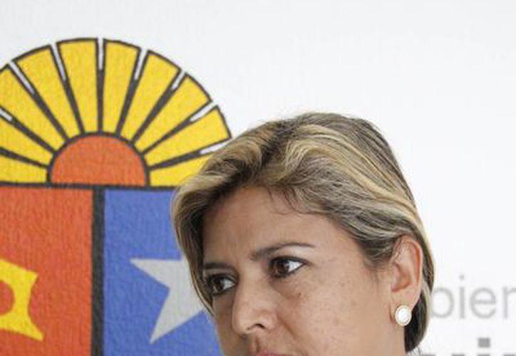 Cristina Rodríguez Alexander lleva más de 19 años de servicio en el magisterio. (Tomás Álvarez/SIPSE)
