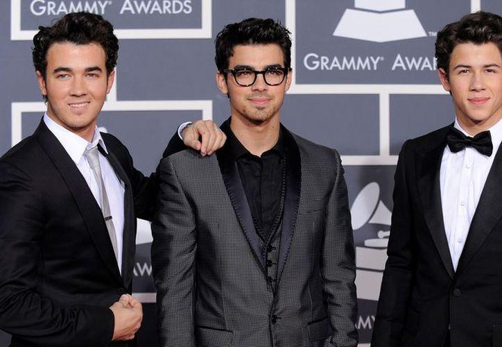 Kevin, Joe y Nick Jonas tuvieron gran éxito cuando estuvieron juntos en la banda juvenil. (Foto: Contexto)