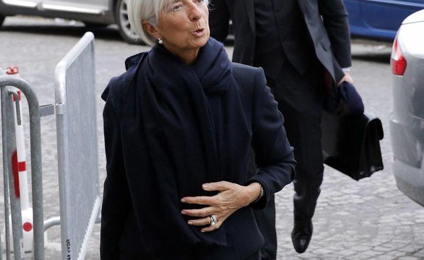 Christine Lagarde es la tercera jefa del Fondo Monetario Internacional implicada en un escándalo. (AP)