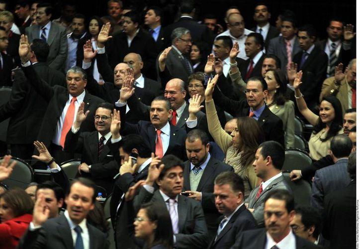 Los grupos parlamentarios en la Cámara de Diputados darán prioridad a la Reforma Educativa. (Agencia Reforma)