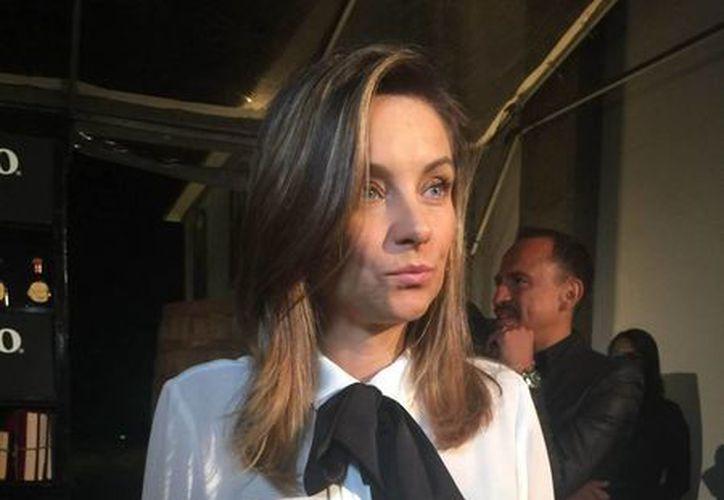 La actriz mexicana, Dominika Paleta, participó en la cinta 'Itinerario de una pasión', la cual narra los múltiples amores de Pancho Villa. (Notimex)
