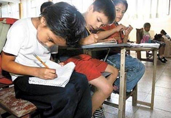 Los alumnos afectados toman clases de nivel preescolar, primaria, secundaria y media superior. (Milenio)