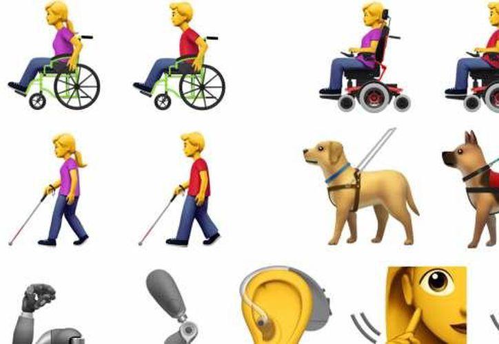 Los emojis buscan crear conciencia sobre la inclusión de las personas con discapacidades. (Internet)